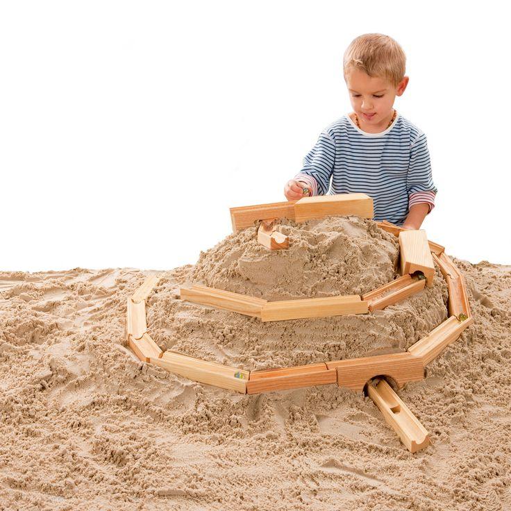Sandkugelbahn