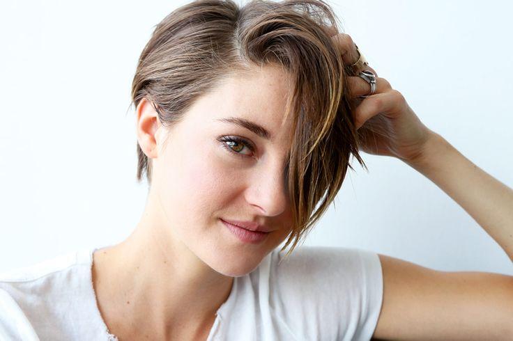Shailene-Woodley's haircut, once I'm over having mermaid hair