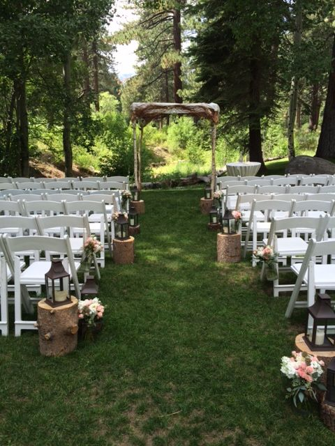 Ceremony Site On The Creek Love It