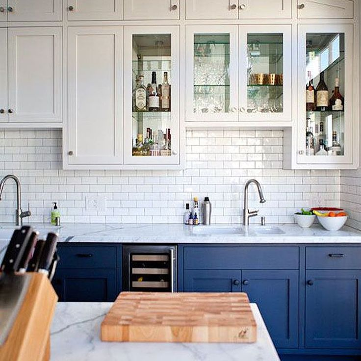 I've got my top #kitchens of 2015 on the blog today. All this Pinspiration is making my brain work overtime. Look out 2016!!! (Photo via @thekitchn )