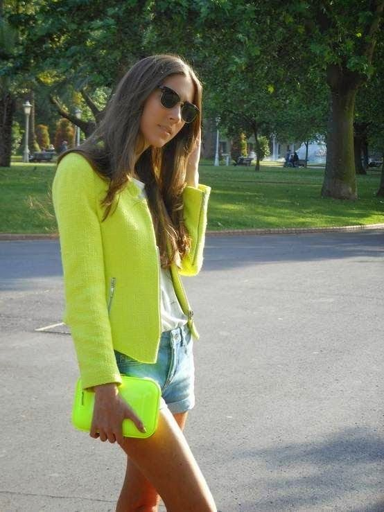 Jayeon Kim's pick:Neon Fashion Trend 2014