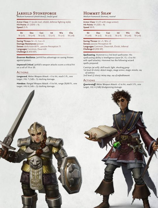 Hack My Dungeon —  Wizards of the Coast released these NPC stats for use in your…