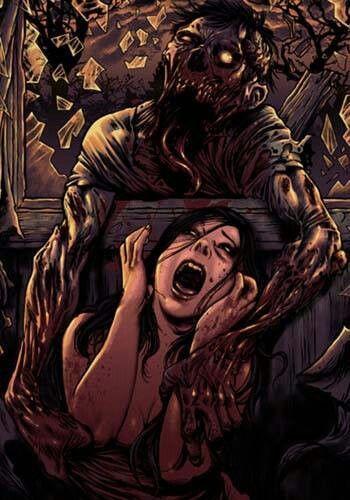 Into the Darkness Seduction...Zombie Attack...lo dicho, siempre acaban entrando...