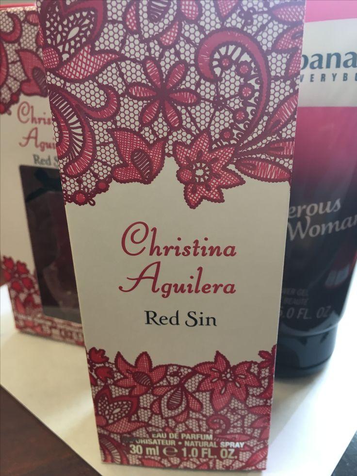 Christina Aguilera Red Sin Original