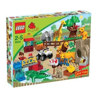 Zoo LEGO Duplo  Dai vita agli animali dello Zoo Lego Duplo, con i suoi 50 pezzi tutti da costruire. Gioco adatto ai bambini di età 2-5 anni.  Prezzo €44,99