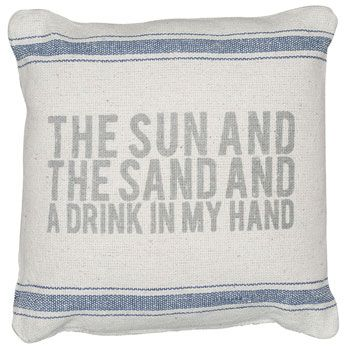 Ocean Styles celebrates lazy days on the beach with one day of Free Shipping on anything! Enter coupon code LAZY at checkout. Expires at midnight tonight (6/9).  #sale #coastal #pillows #sayings #beach