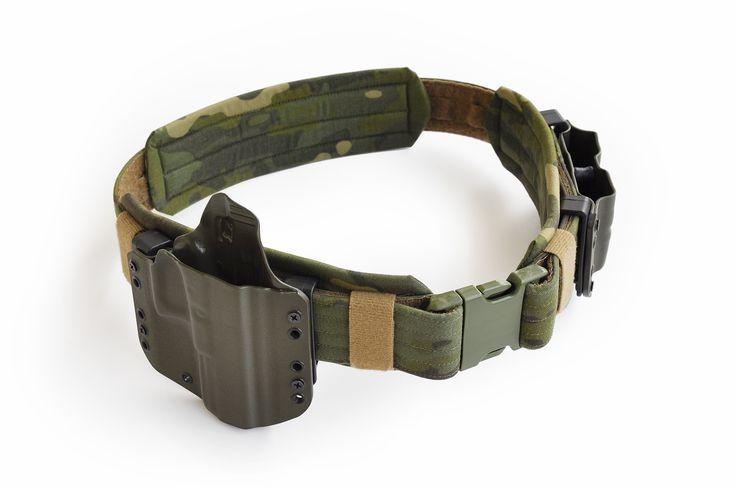 Raider Belt Prototype with Pads in MultiCam Tropic #MultiCam #Tactical