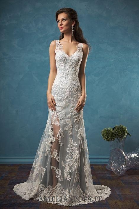 1114 best Bridal Gown--Colors Volume2 images on Pinterest | Wedding ...