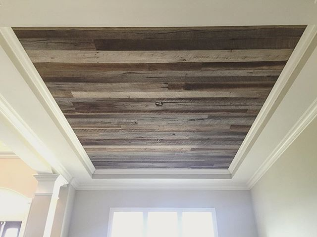Best 25 tray ceilings ideas on pinterest recessed Shiplap tray ceiling