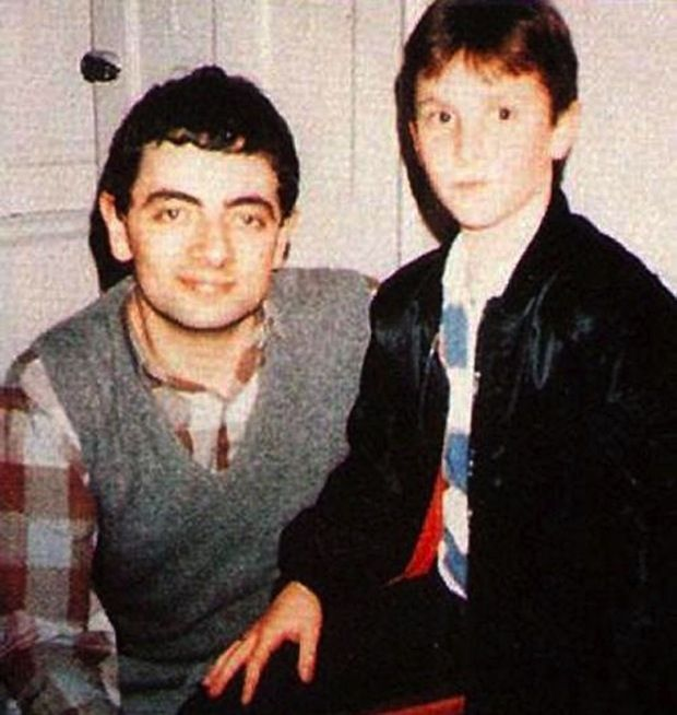 Rowan Atkinson and Christian Bale: | The 45 Most Legendary Pictures Ever Taken