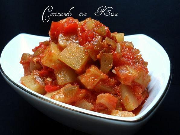 Cocinando con Kisa: Pisto al estilo tradicional (fussioncook)
