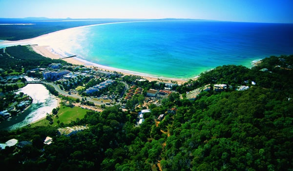 Noosa Beach and coastline - sunshine coast