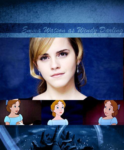 |Disney Dreamcast: Peter Pan| Emma Watson as Wendy Darling from Peter Pan