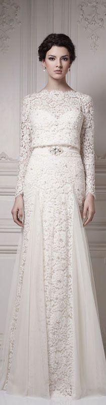 Ersa Atelier Wedding 2013 Collection #wedding #dress #bride