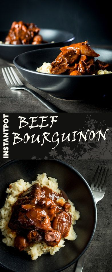 I must be in a French frame of mind at the moment, my latest recipe is the classic Beef Bourguinon cooked this time in the Instant Pot, a real comforting favourite! #frenchfood #french #food #recipe #recipeoftheday #instantpot #instantpotrecipes #pressurecooker #comfortfood
