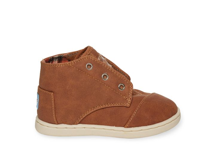 Marron Paseo-Mids synthétiques TOMSTout-petits