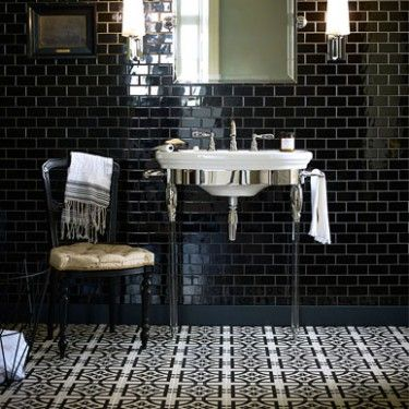 48 best images about glazed decorated tiles on pinterest for Fired earth bathroom ideas