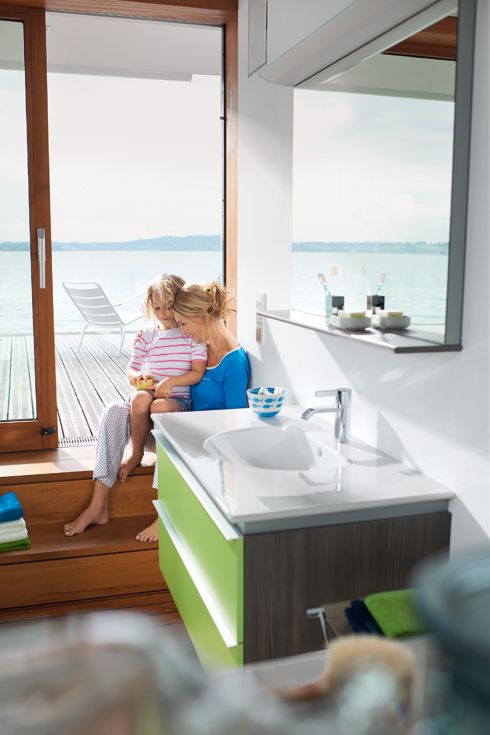 Quality time with Darling New ceramics and bathroom furniture by Duravit.