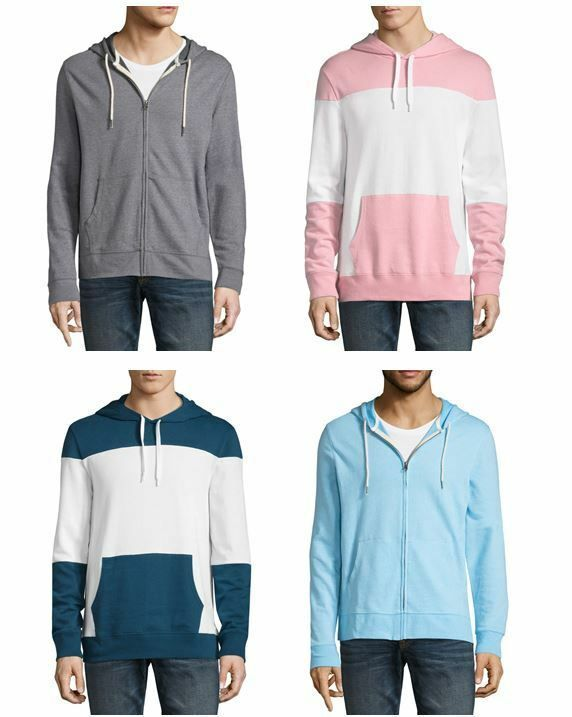 Details about Men's Arizona Long Sleeve Knit Hoodie in 2020