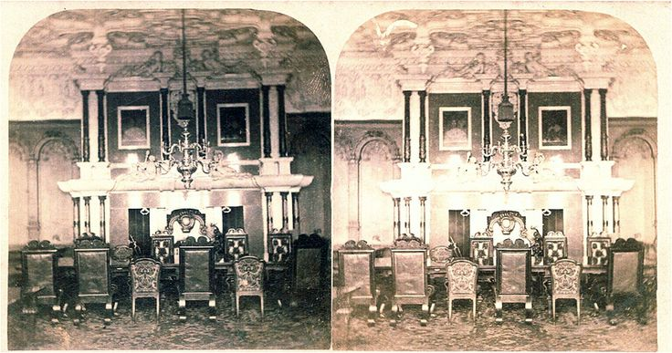 Harlaxton Manor  State Dining Room Stereographs Late19Th Mesmerizing Haunted Mansion Dining Room Design Ideas
