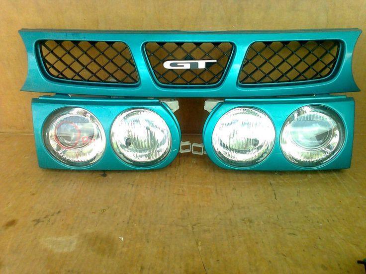 Toyota Starlet EP82 GT OEM Head Lights, Corner Lights & Front Grill