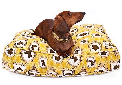 dog fabric bed