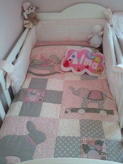colcha de bebé