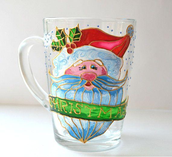 Santa Claus Mug Coffee mug Christmas Mug Christmas Gift Xmas