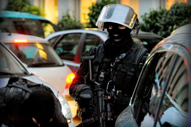 Le Groupe d'intervention (GI) de la police genevoise