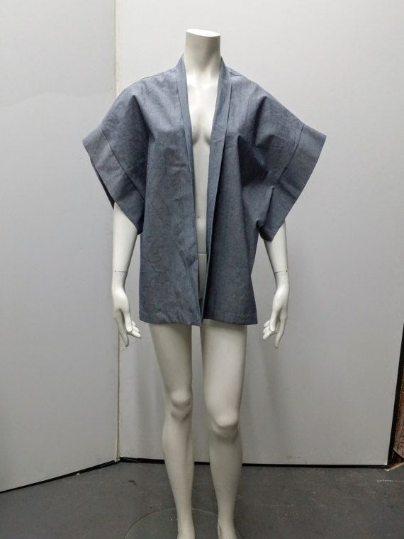 Kimono Coat Top Short Kimono Made In New York by epauletstar