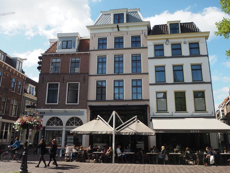 Beautiful fronts: Mother Goose Hotel in Utrecht #architecture #hotels #utrecht