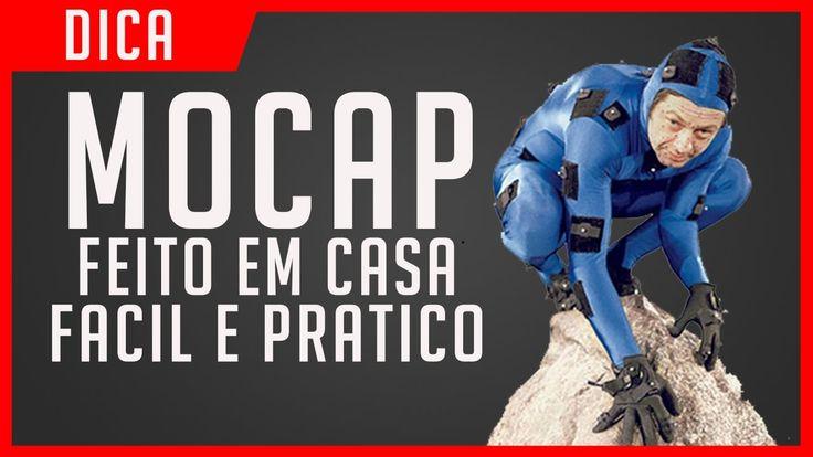 ANIMAÇÃO COM MOCAP CASEIRO