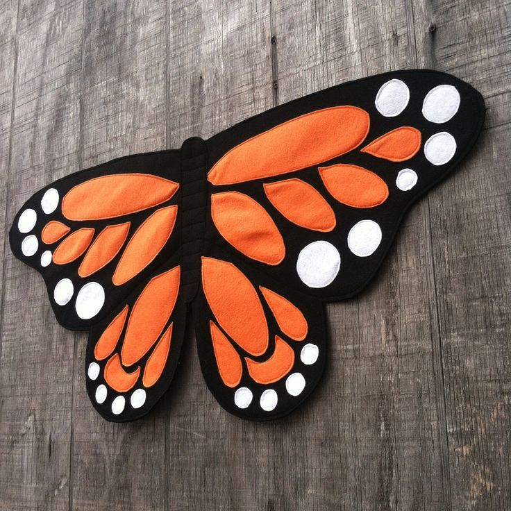 Magical Monarch Butterfly Costume Wings Eco by TreeAndVine on Etsy