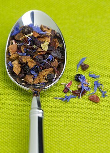 Tea, spoon, loose tea