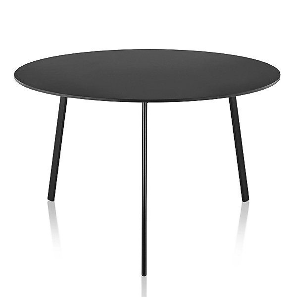 Magis Striped Tavolo Table Round Color Black Size Small A Href Http Modern Outdoor Dining Table Beautiful Furniture Pieces Furniture Design Modern