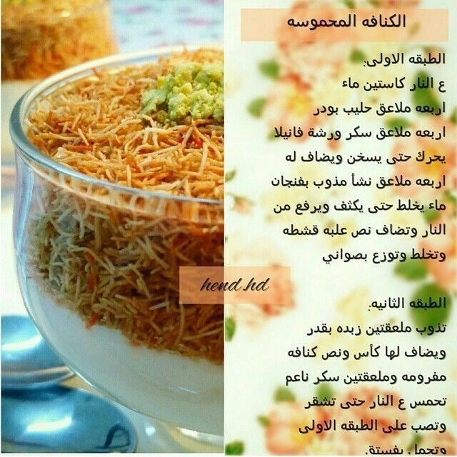 Pin By Pink On منوعات In 2021 Arabic Food Dessert Recipes Food