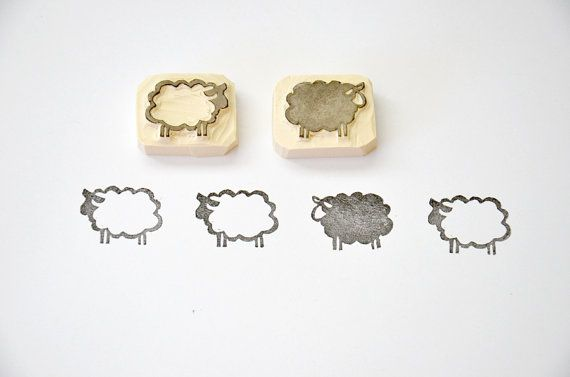 size: 1 x 3/4 ( 2.5 x 2 cm )    Use these stamps for making greeting cards, in journals or on fabric.  Ideal for those little fabric projects, cards
