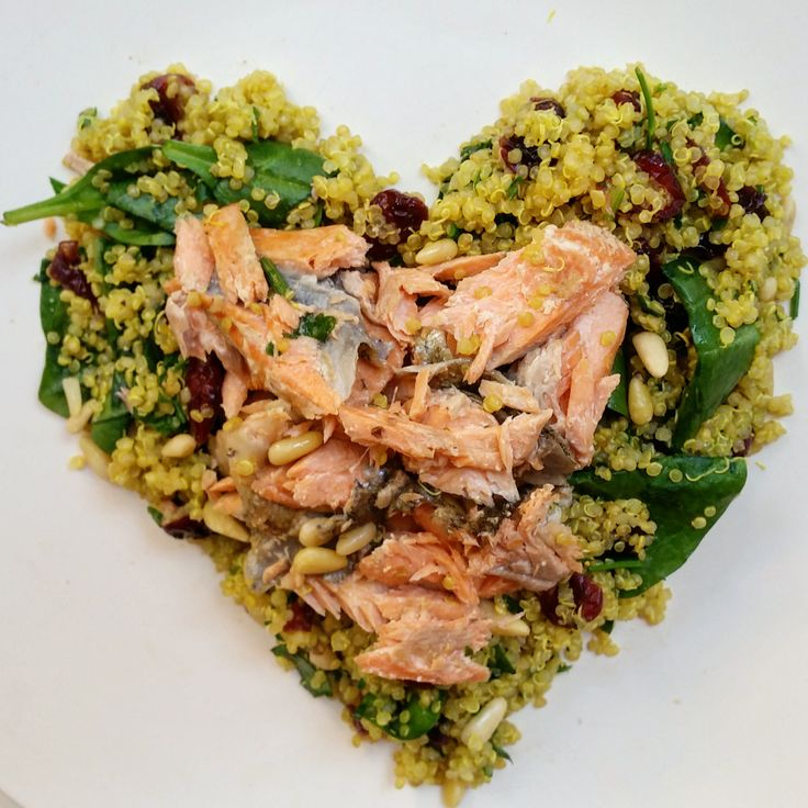 High protein, heart healthy quinoa tabbouleh. From Absolute Potential