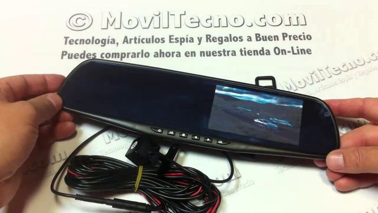 Espejo retrovisor con cámara de video - MovilTecno.com