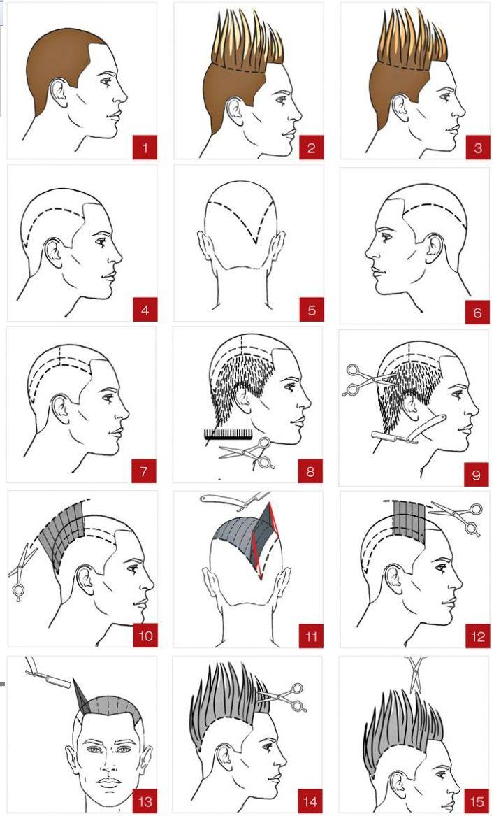 Небрежная мужская стрижка для длинных волос
