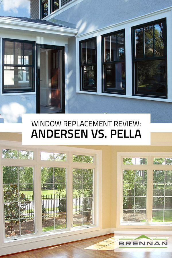 Anderson Replacement Windows >> Replacement Window Review Andersen Vs Pella Replacement