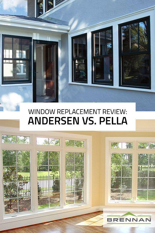 Replacement Window Review Andersen Vs Pella Replacement Windows