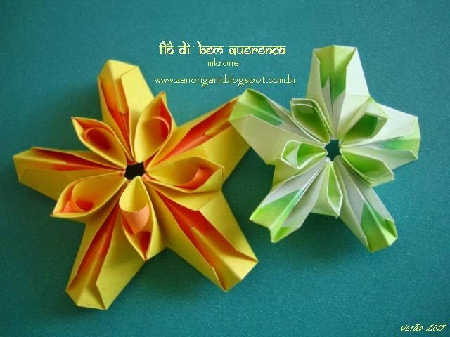 Zen Origami: FLÔ di BEM QUERENÇA
