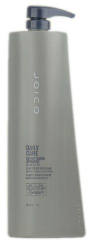 Joico Daily Care Conditioning Shampoo, 33.8 Fluid Ounce by Joico. $17.99. Ph. 4.5 - 5.5 contains Quadra mine complex an exclusive blend of low molecular weight and size proteins. This conditioning shampoo cleanses gently and contains moisture rich essential fatty acids to nourish coarse dry hair. This balance of 19 essential amino acids adheres quickly to ensure maximum protection. Hair systems work together to optimize the condition appearance and integrity o...