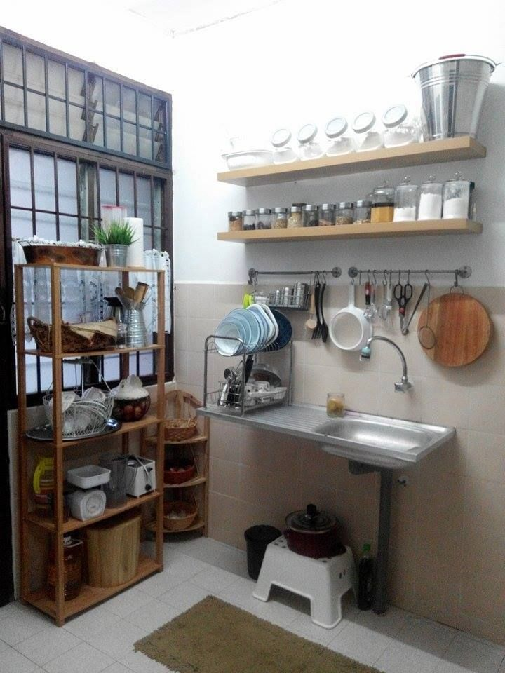 Deco Dapur Rumah Sewa Desainrumahid com