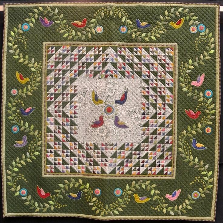 487 Best Quilts Applique Images On Pinterest Appliqu 233
