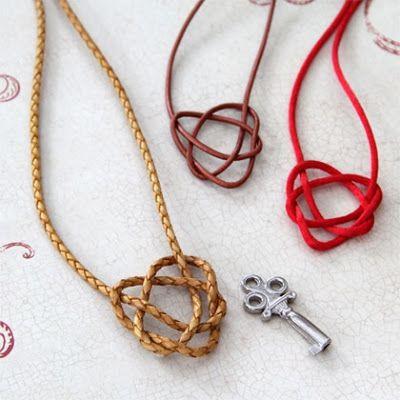 Merida's Celtic Heart Necklace Craft