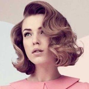 opciones de peinados pelo corto mujer retro