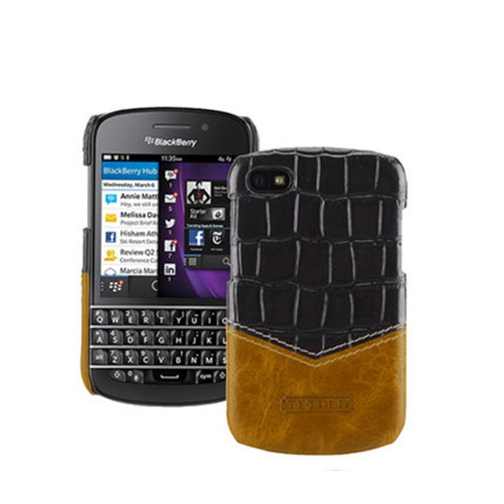 >> Click to Buy << Premium Genuine Leather Phone Cases for Black Berry Q10 Case Protective Fitted Back Cover Bag for Blackberry Q10 3.1inch #Affiliate