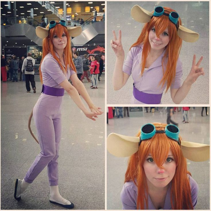 Gadget cosplay Comiccon2015 Russia by Tenori-Tiger